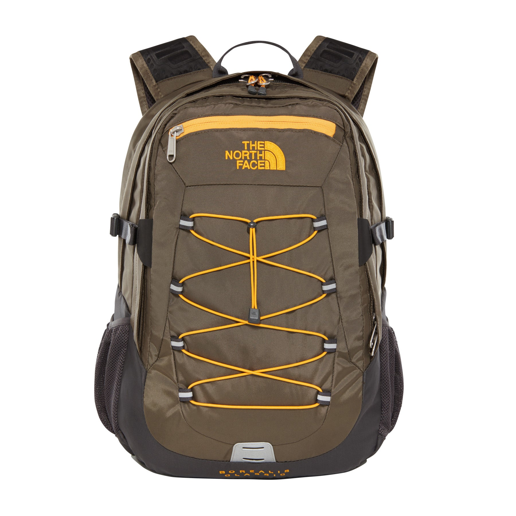 North Face Borealis Classic Backpack - New Taupe Green Asphalt Gray