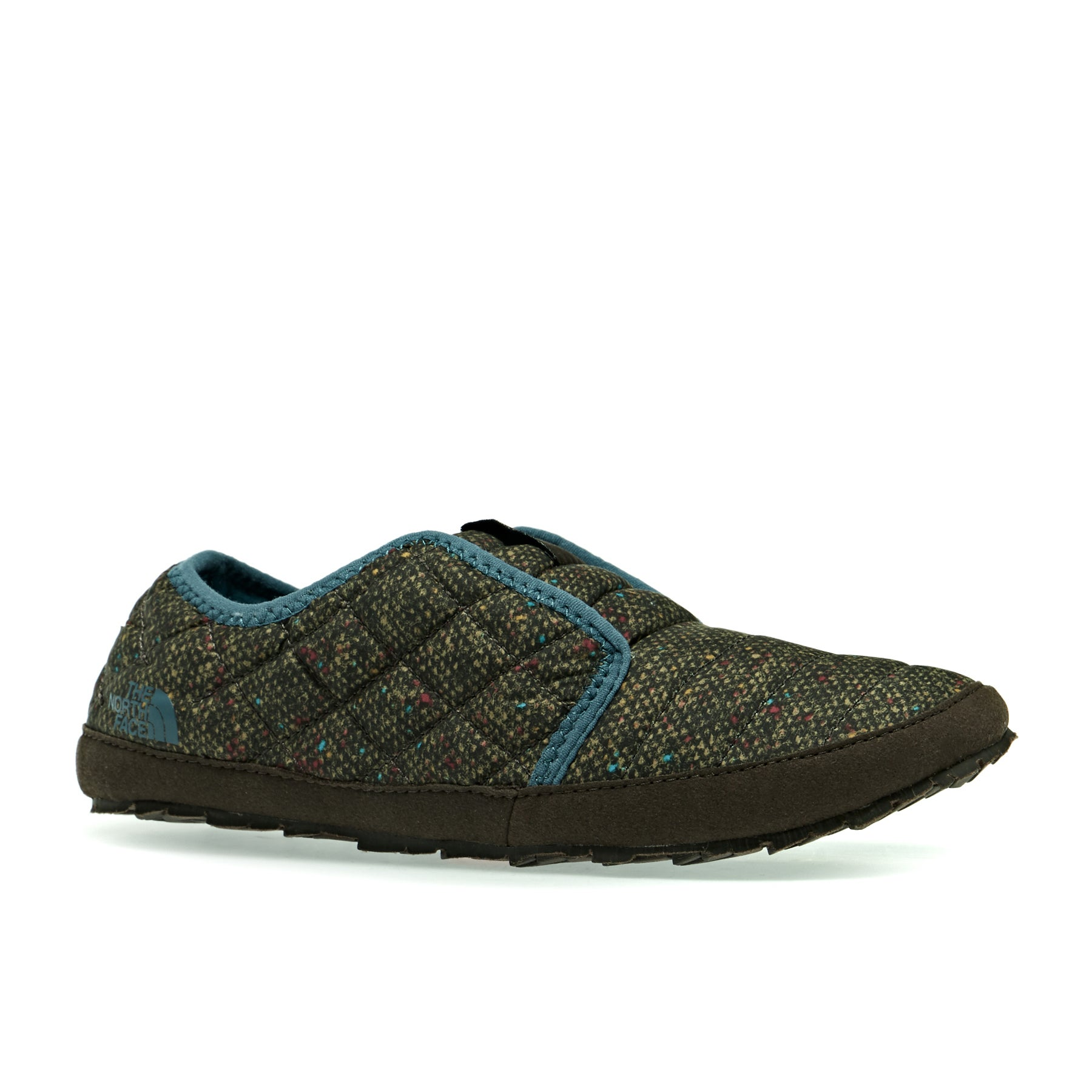 Chinelos Senhora North Face Thermoball Traction Mule II - Tweed Print Tapestry Blue