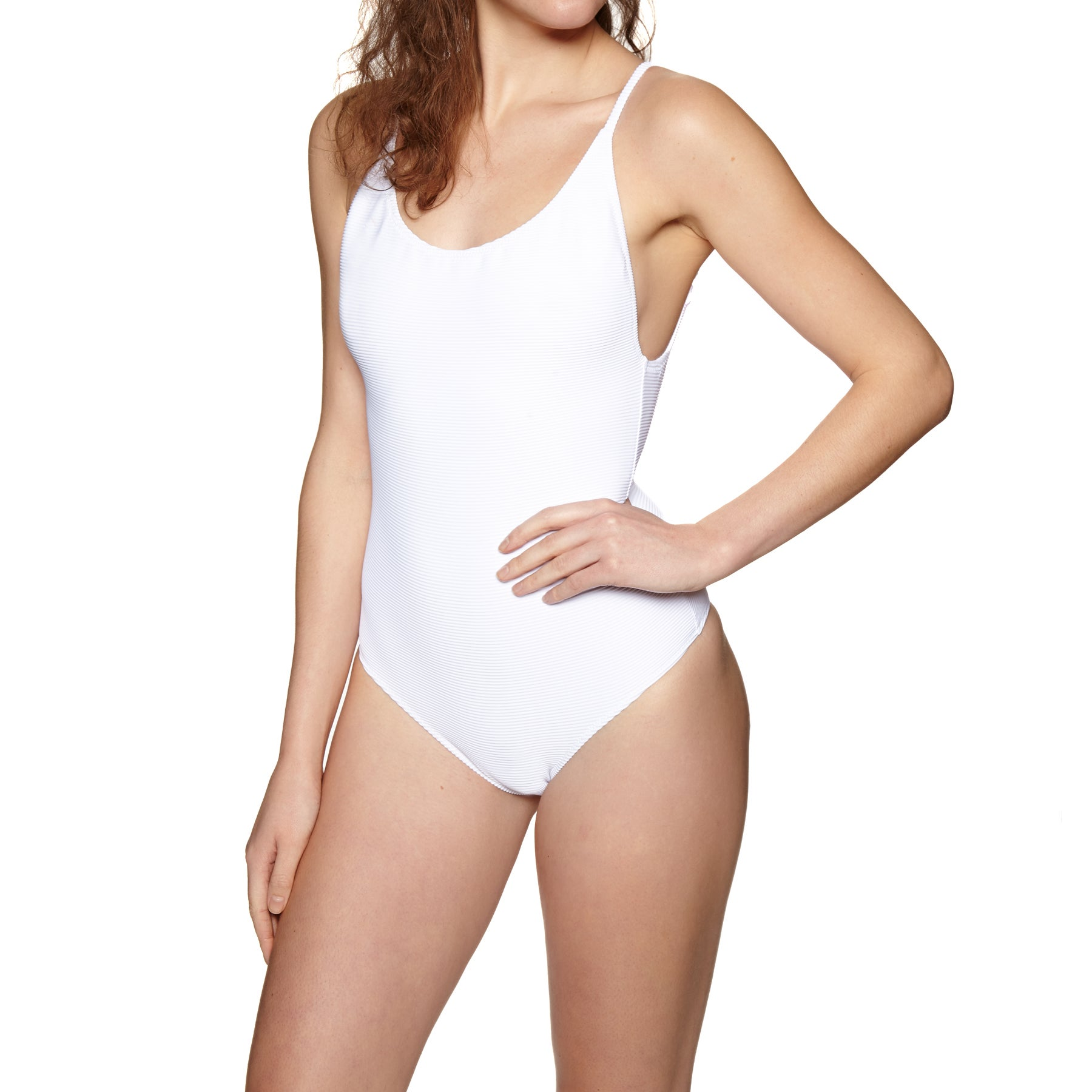 Rhythm Palm Springs Scoop Swimsuit - White