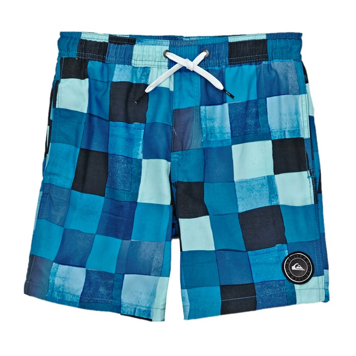 5a8c0ed349 Quiksilver Resin Check 15in Boys Swim Shorts available from Surfdome