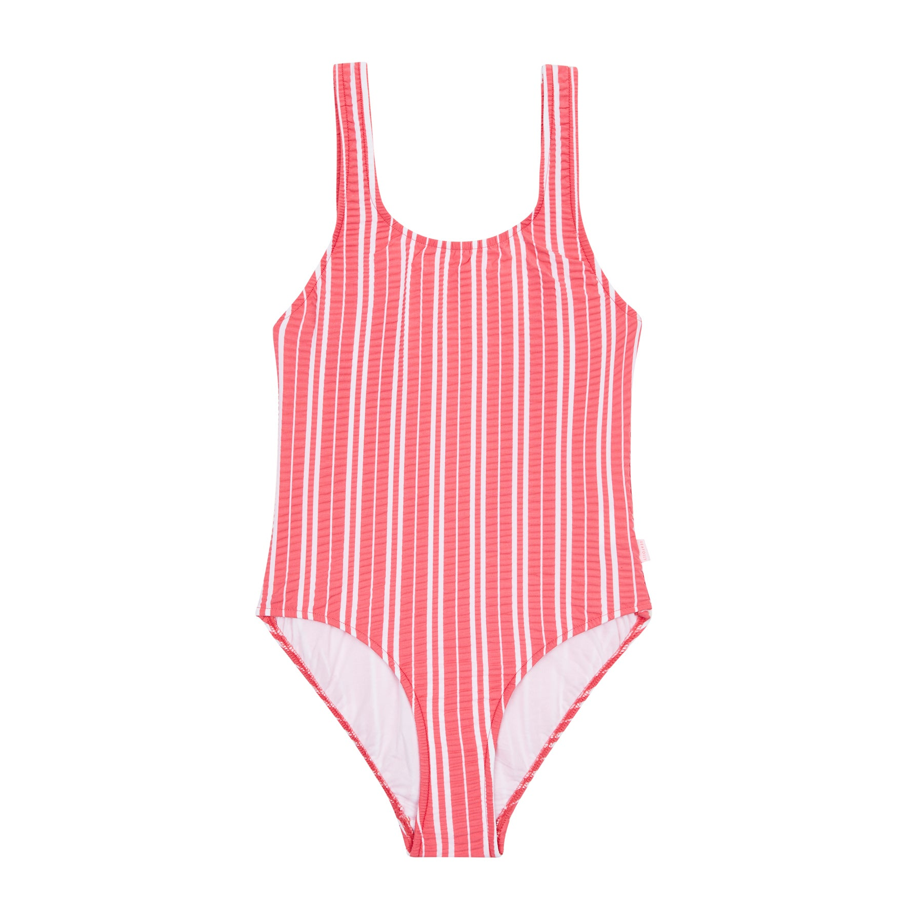 Seafolly 80s Girls Swimsuit - Pink