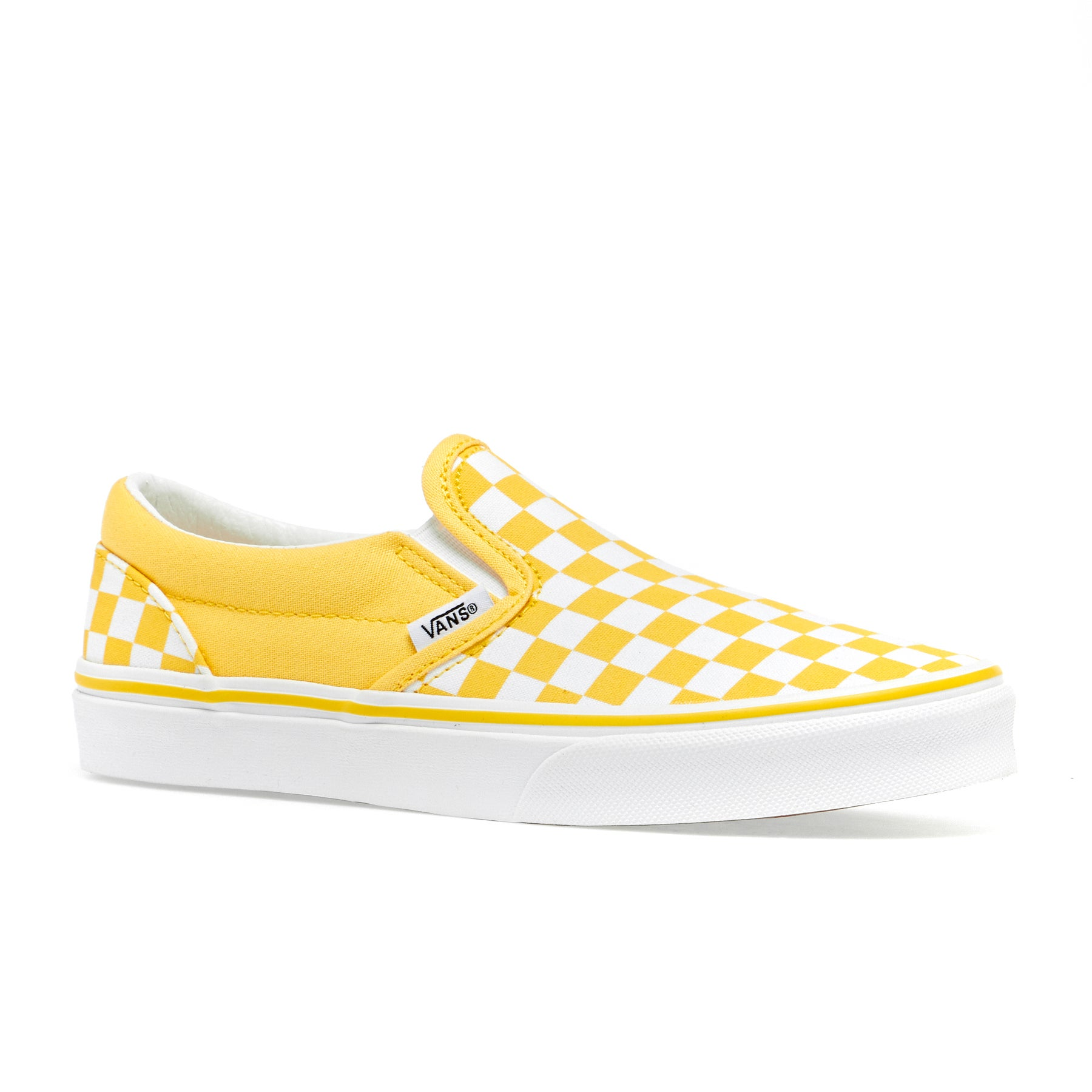 vans checkerboard slip on kinder
