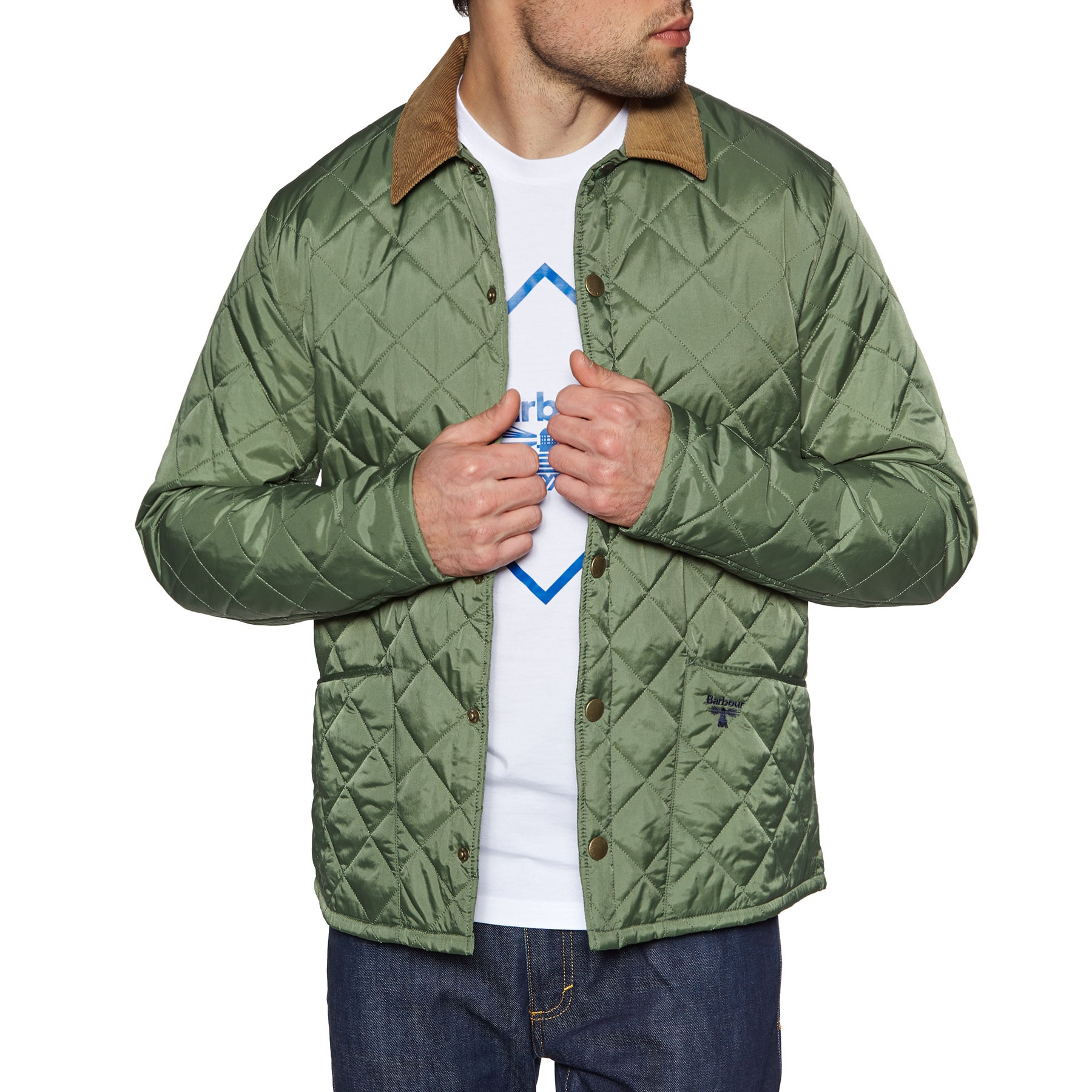 Barbour Beacon Starling Jacket - Moss