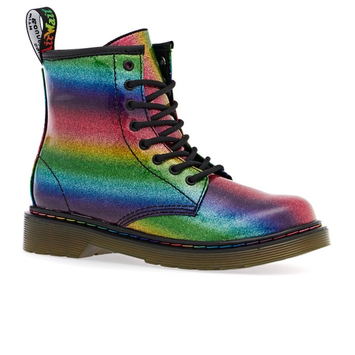 e637bcbf20c0 Dr Martens 1460 Ombre Glitter J Kids Shoes available from Surfdome