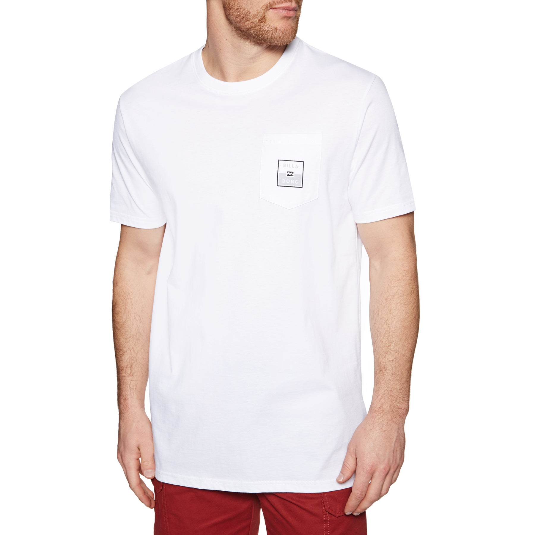 Billabong Stacked Short Sleeve T-Shirt - White