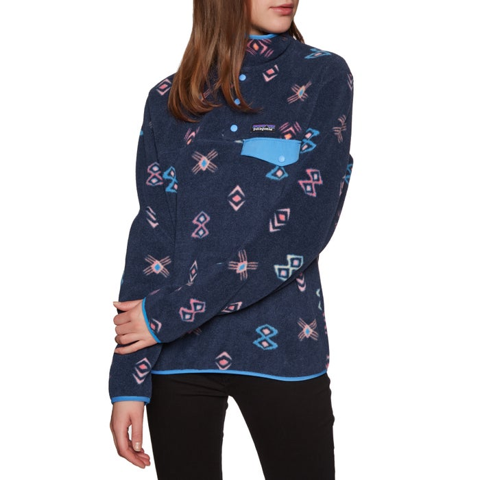 Pile Donna Patagonia Lightweight Synchilla Snap T