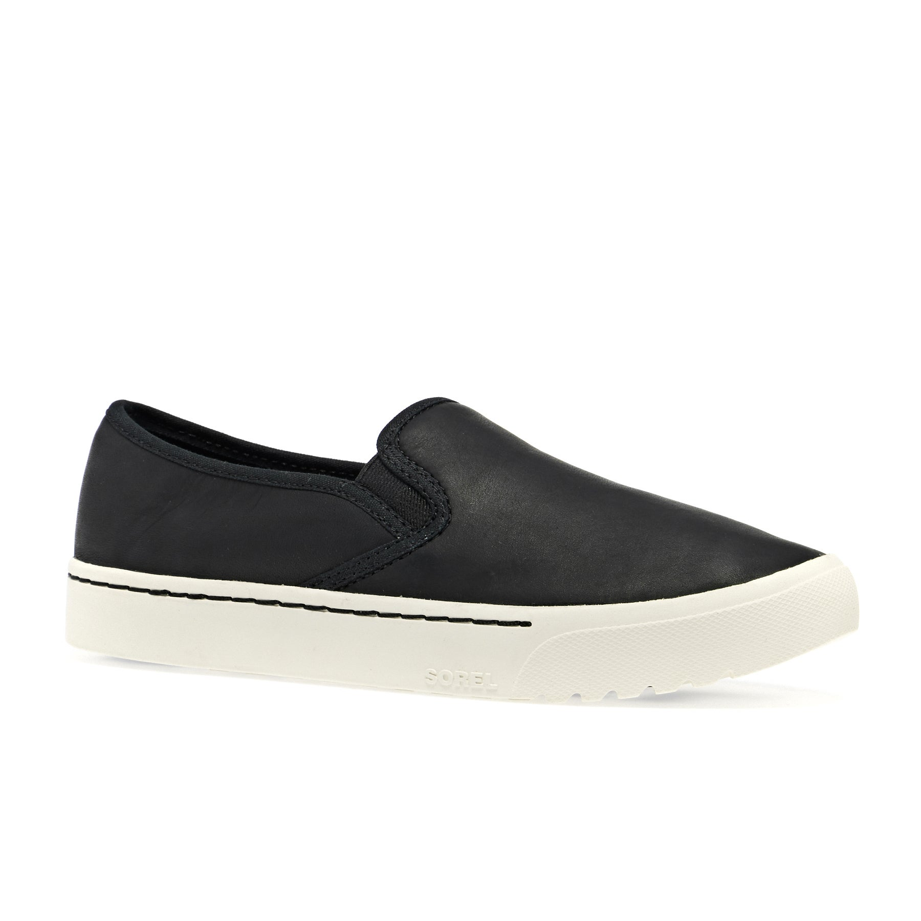 Sorel Campsneak Slip On Womens Shoes - Lucca-black