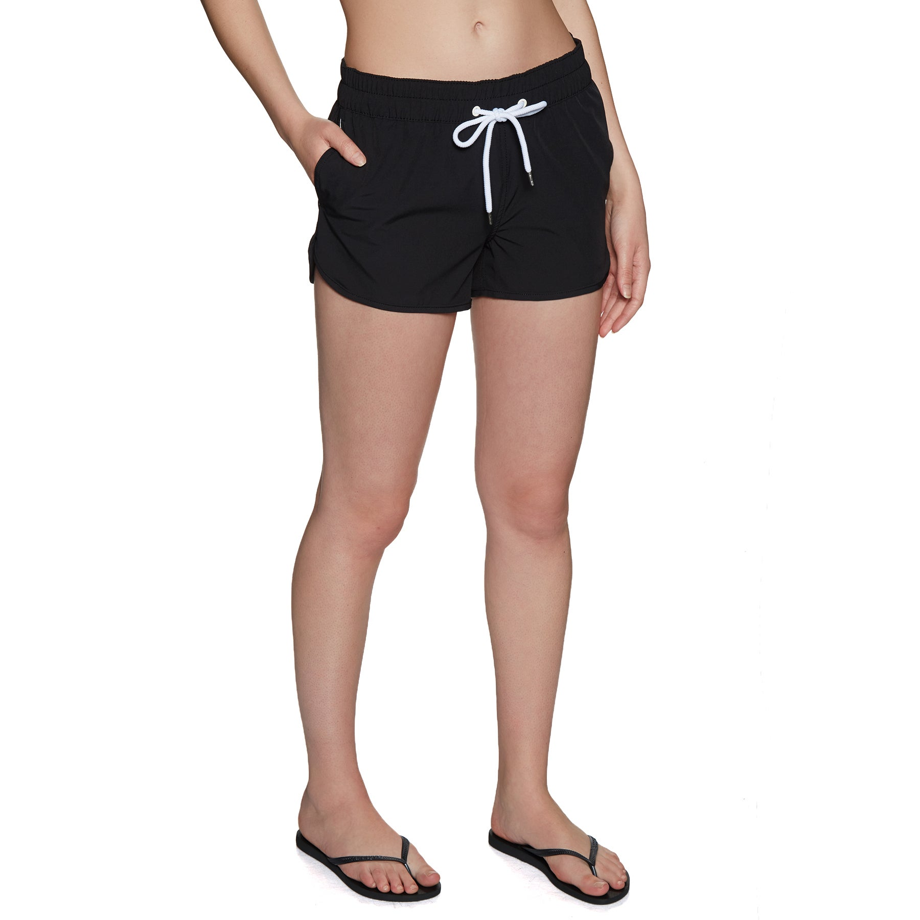 SWELL Max Womens Boardshorts - Black