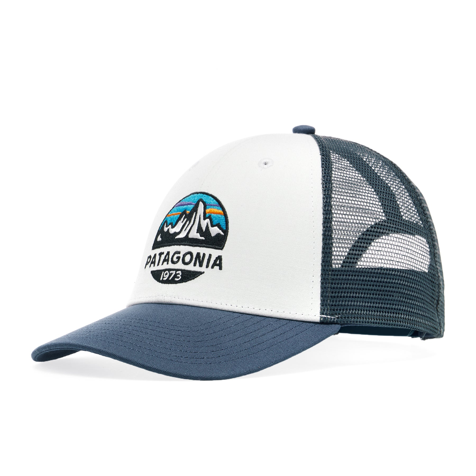 Casquette Patagonia Fitz Roy Scope Lopro Trucker - White