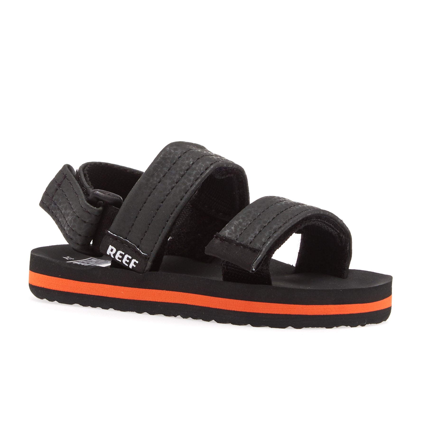 Reef Little Ahi Convertible Kids Sandals - Grey Orange