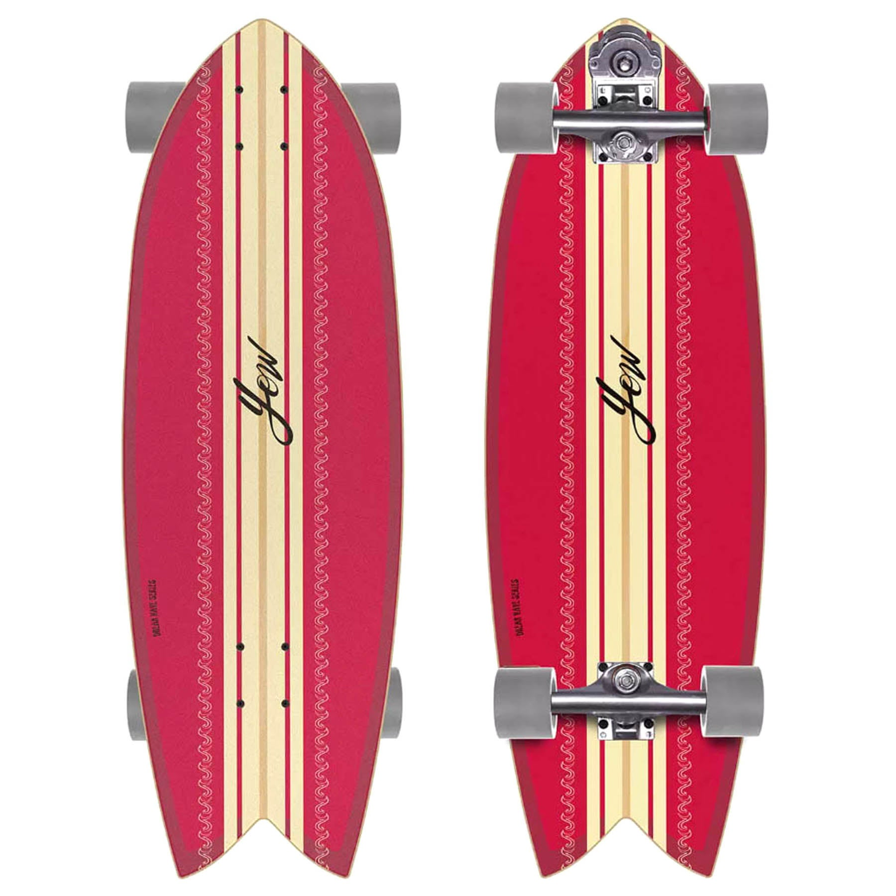Surf Skateboard YOW Coxos 31 - Red