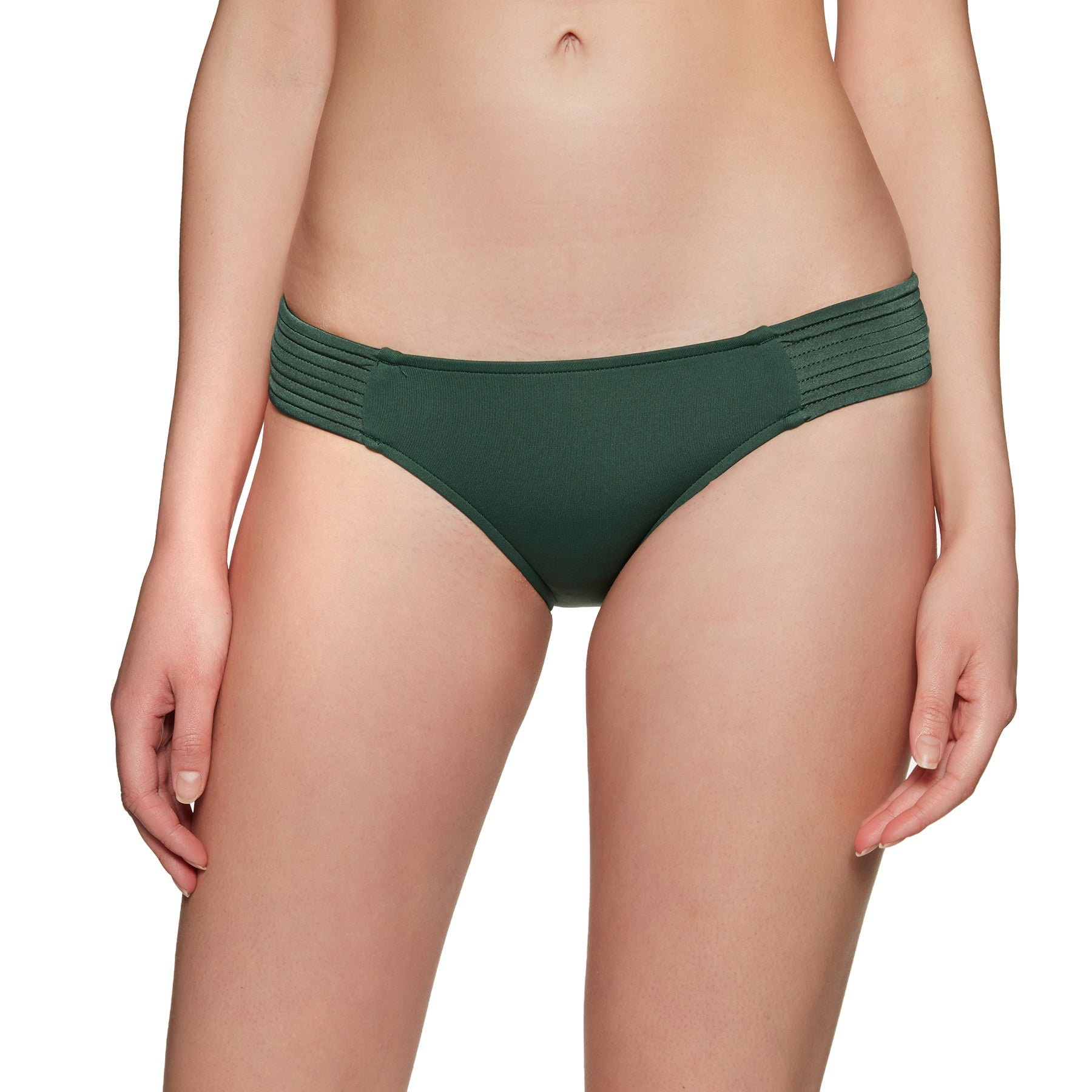 Seafolly Quilted Hipster Bikini Bottoms - Forest