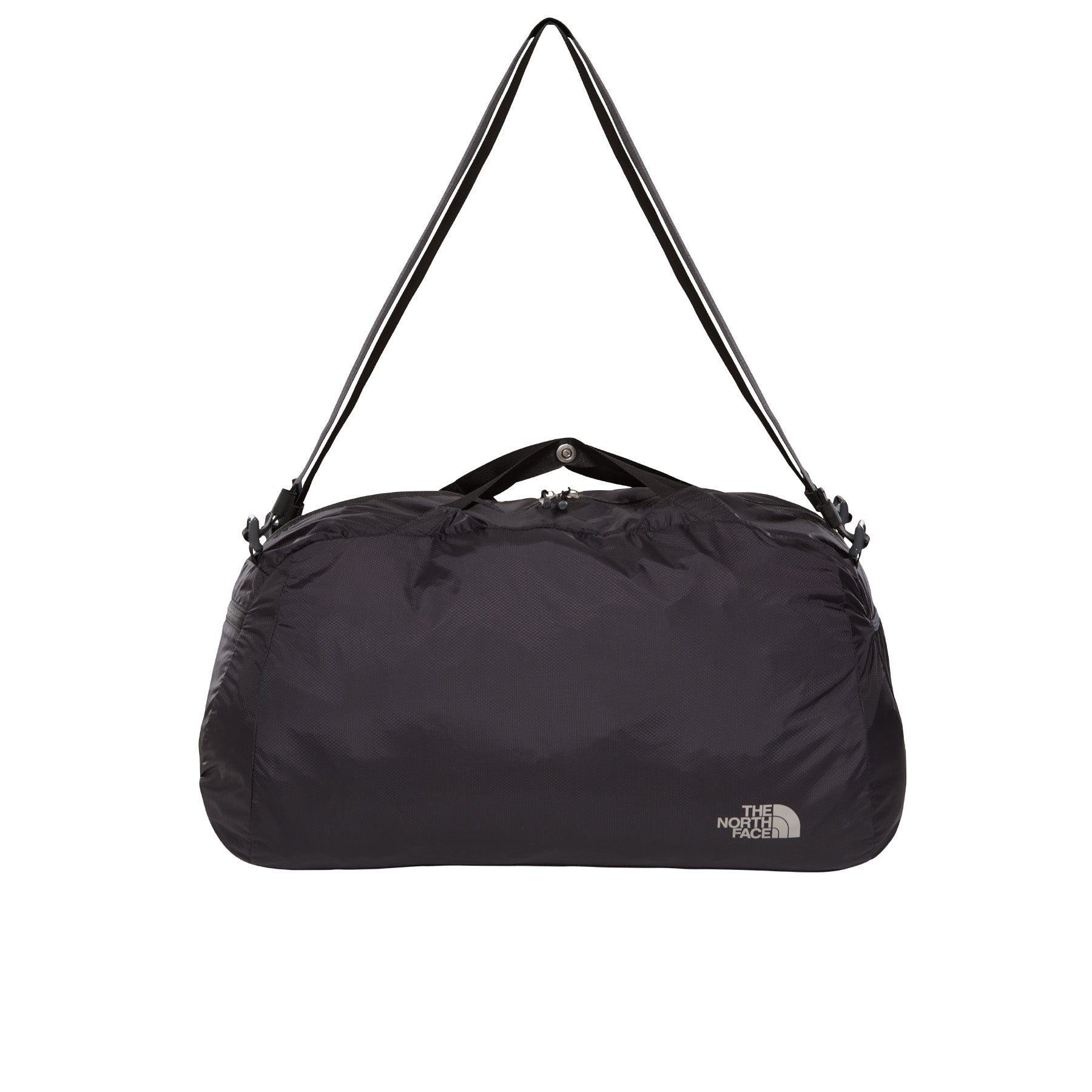 North Face Apex Medium Duffle Bag - Asphalt Grey TNF Black
