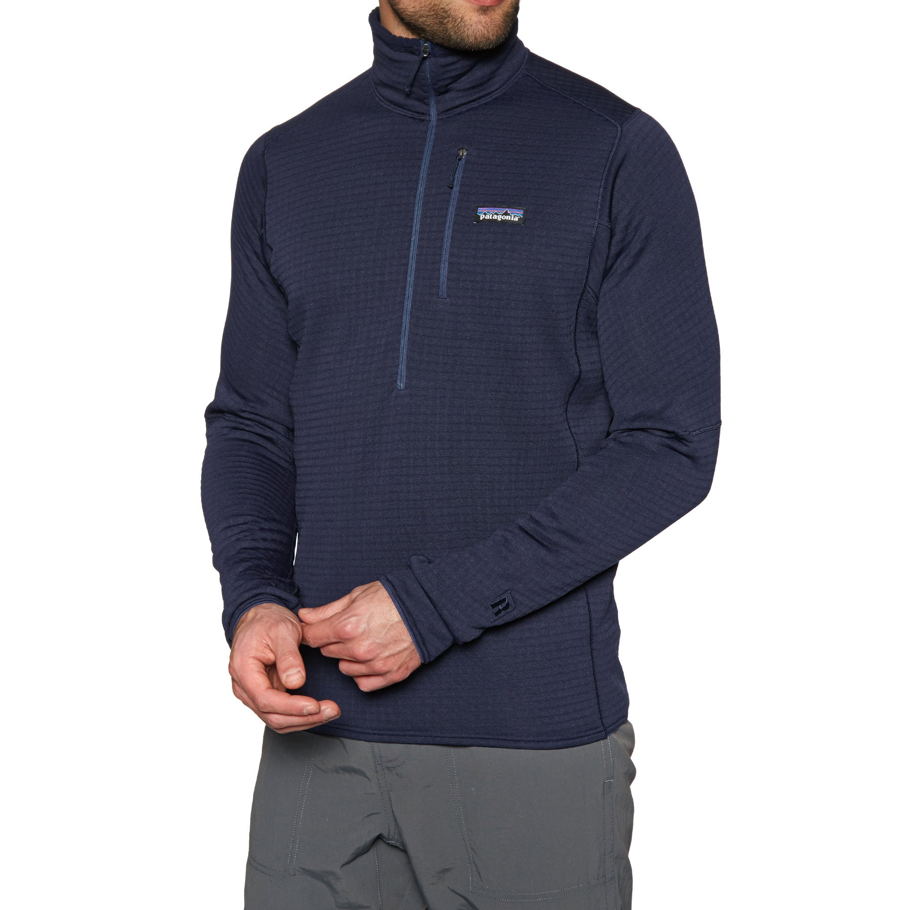 Patagonia R1 Pullover Fleece - Classic Navy