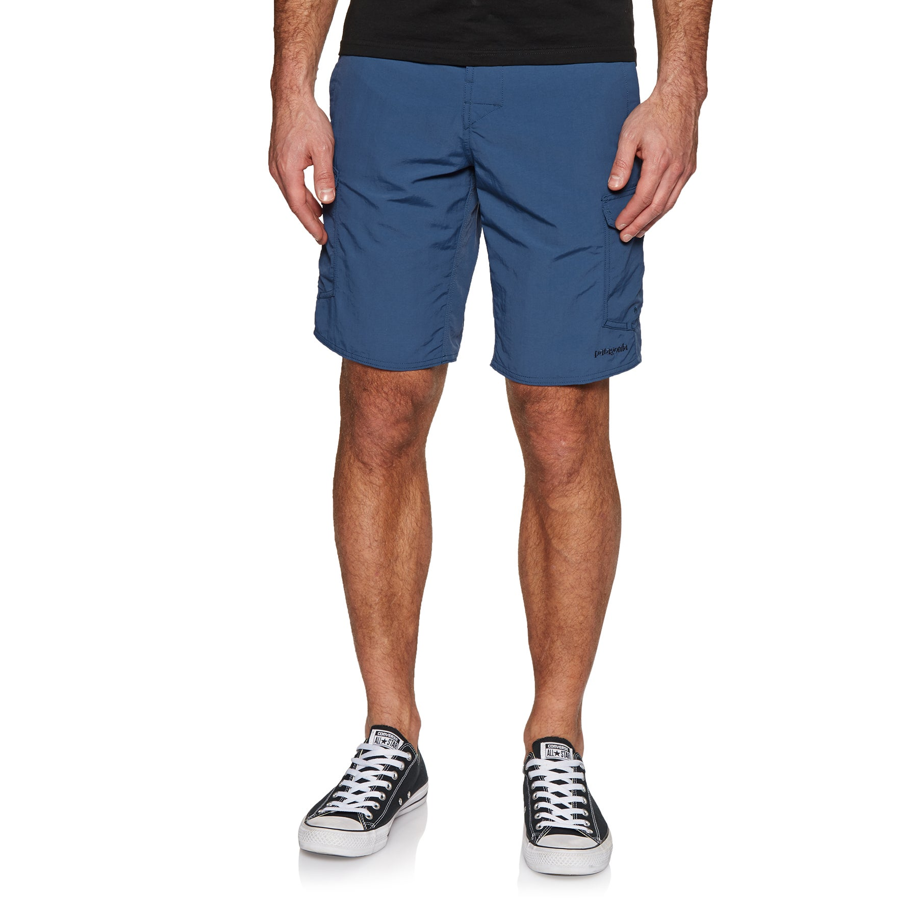 Patagonia Wavefarer Cargo 20 In Walk Shorts - Stone Blue
