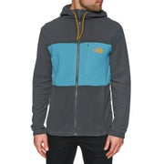 Polares North Face Blocked Full Zip Hooded