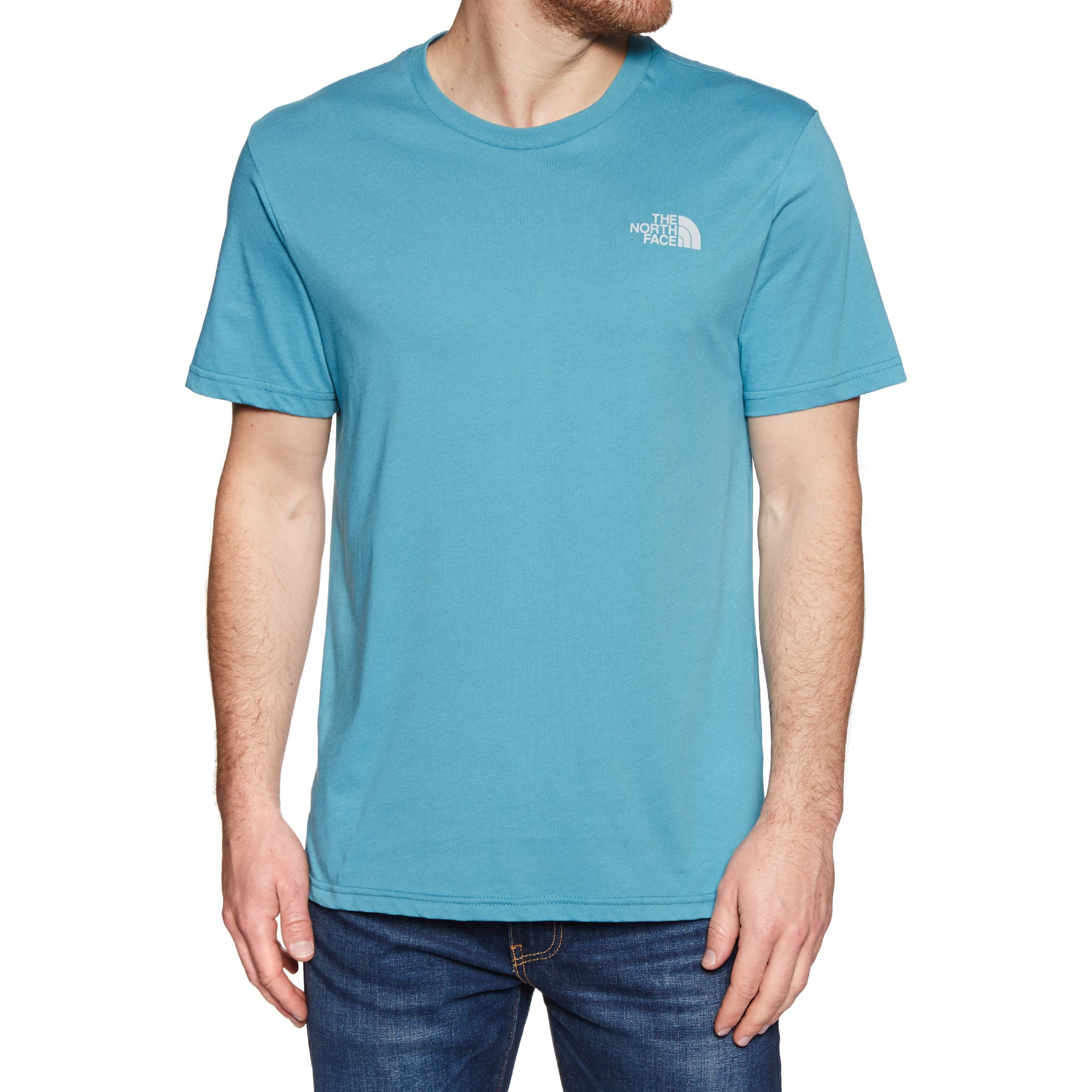T-Shirt a Manica Corta North Face Simple Dome - Storm Blue