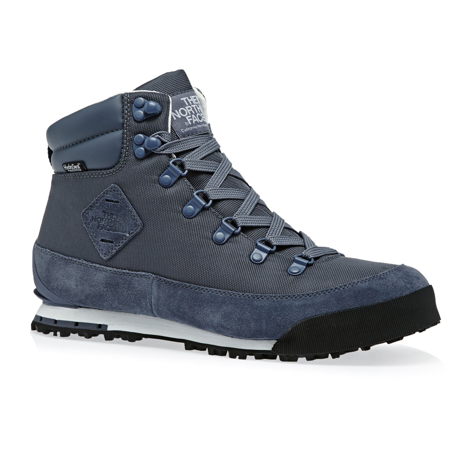 North Face Back To Berkeley Walking Boots - Grisaille Grey TNF White
