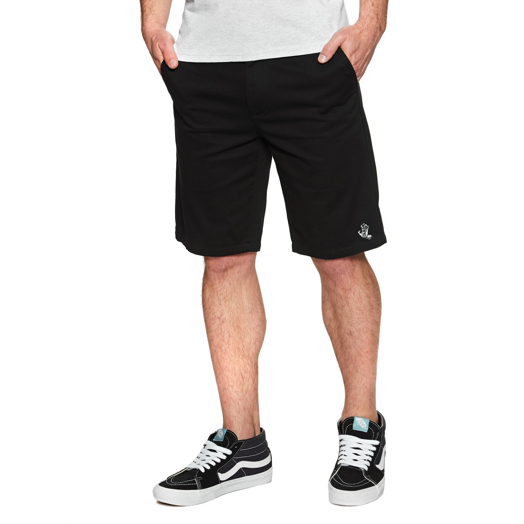 Shorts pour la Marche Santa Cruz Screaming Mono Hand - Black