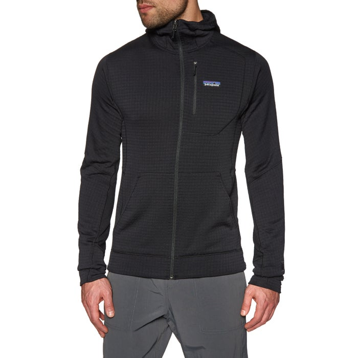 Polaire Patagonia R1 Full Zip Hooded