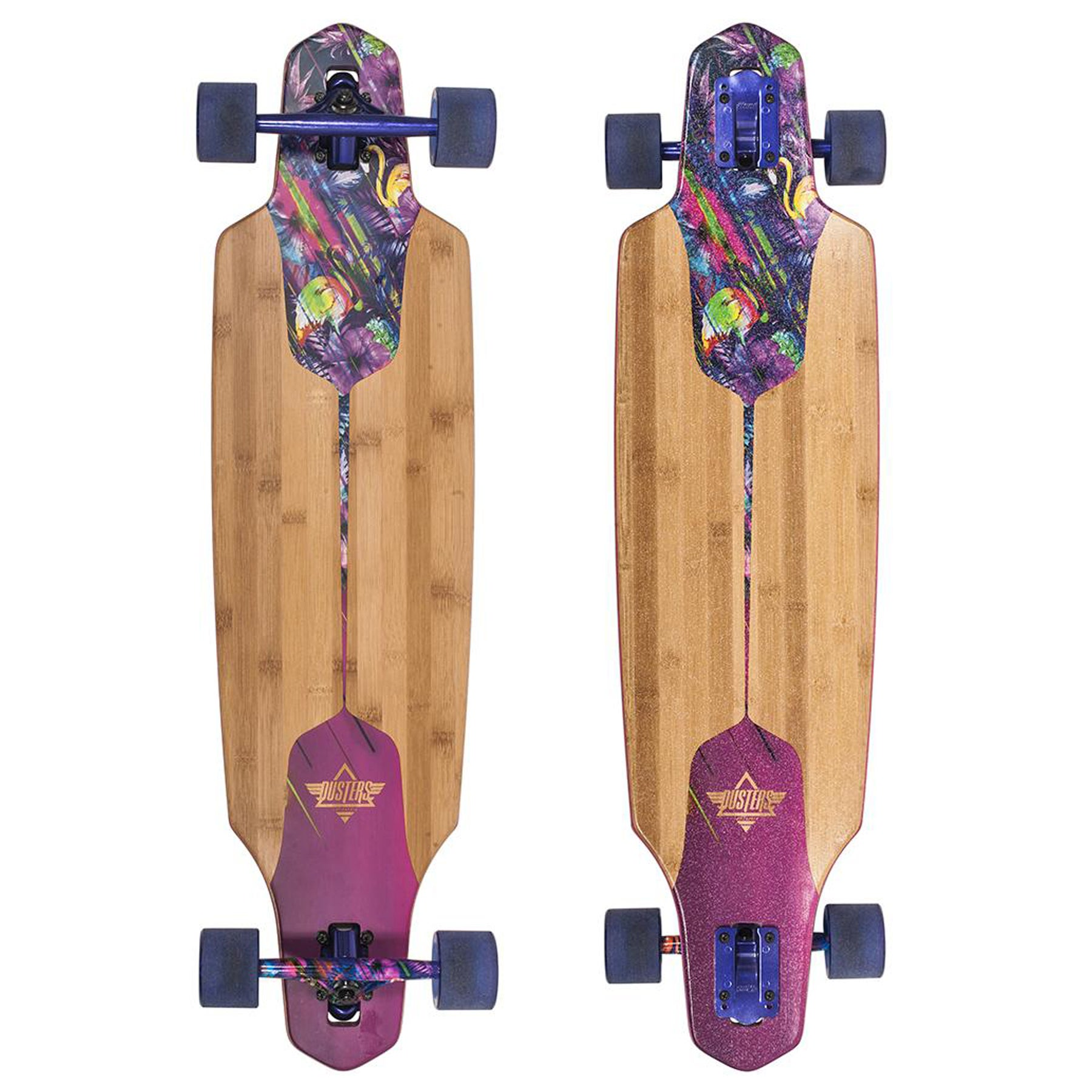 Longboard Dusters Channel Tripycal 38 Inch - Purple