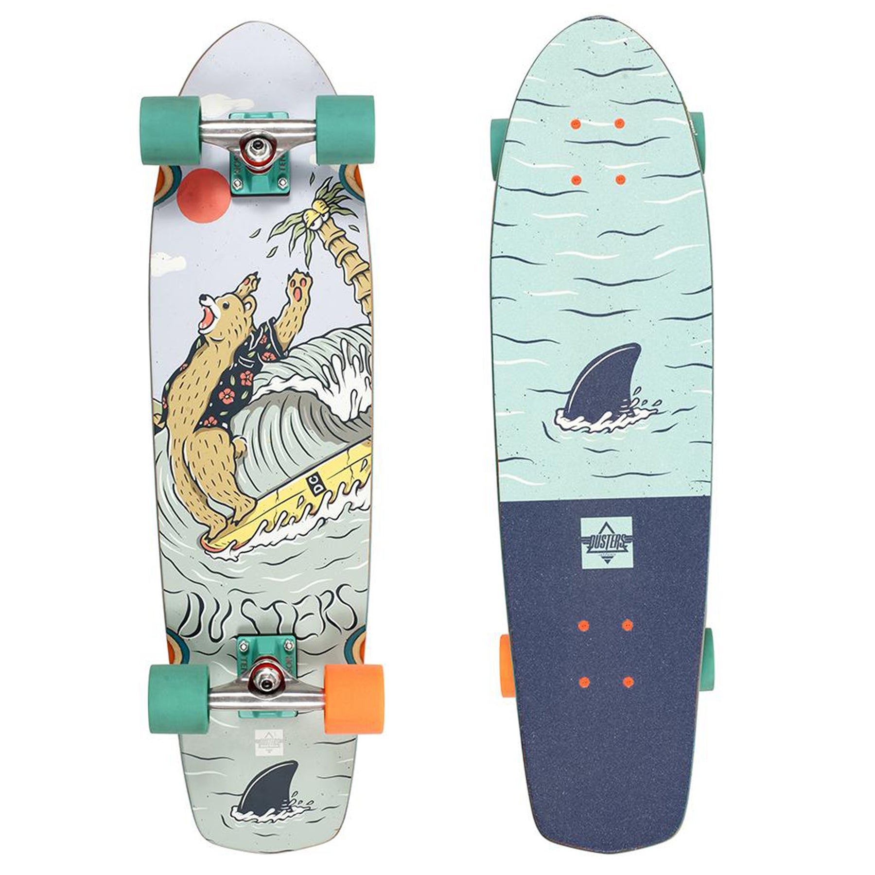 Cruiser Dusters Kentaro 31 Inch - Teal