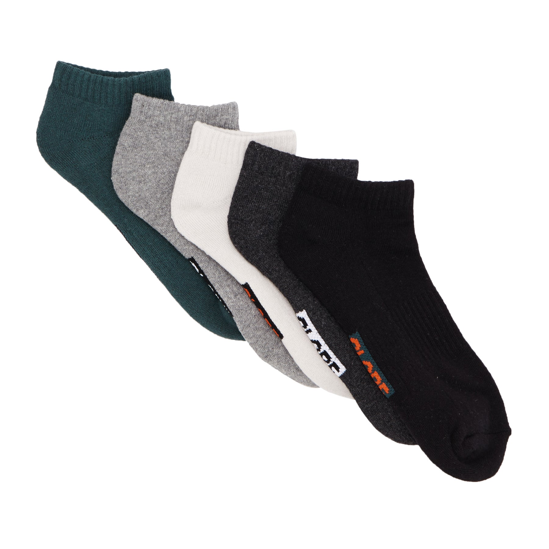 Meias Globe Hilite Ankle 5 Pack - Assorted