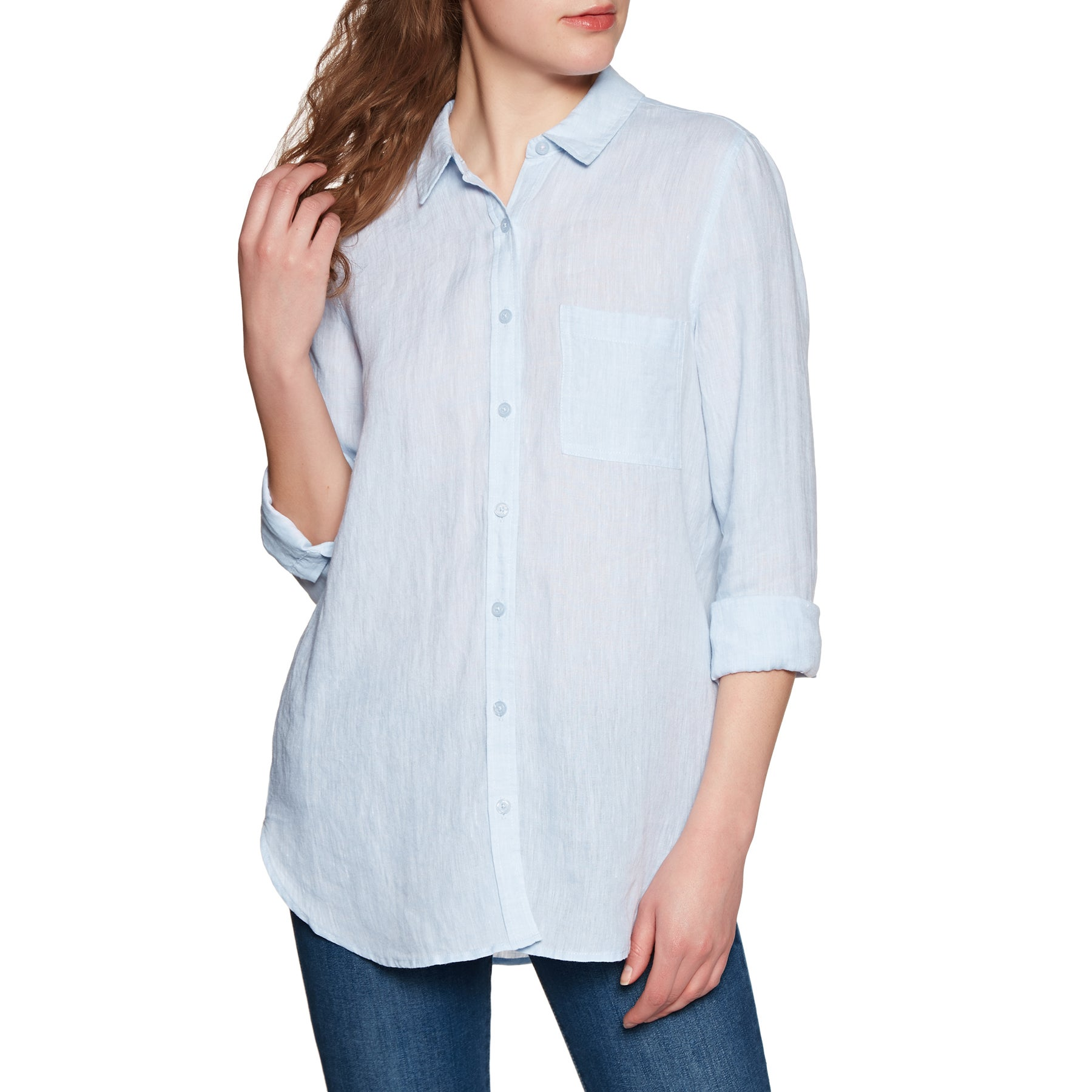Camisa Mujer Joules Jeanne - Blue