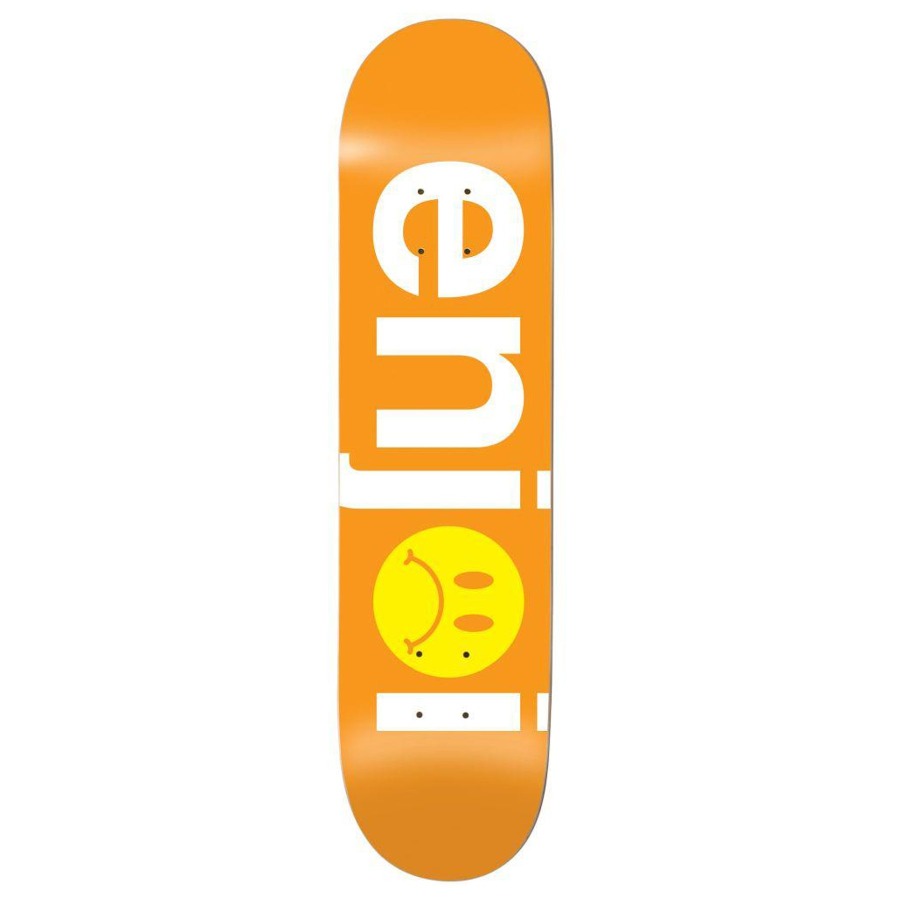 Prancha de Skate Enjoi Frowny Face No Brainer Hyb 8.125 Inch - Orange