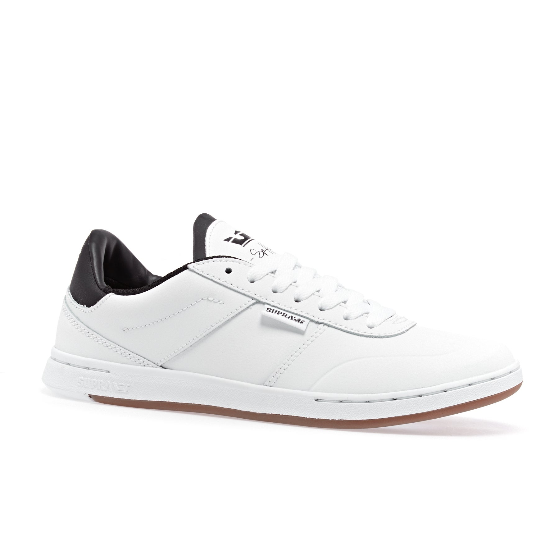 Supra Elevate Shoes - White/black-white
