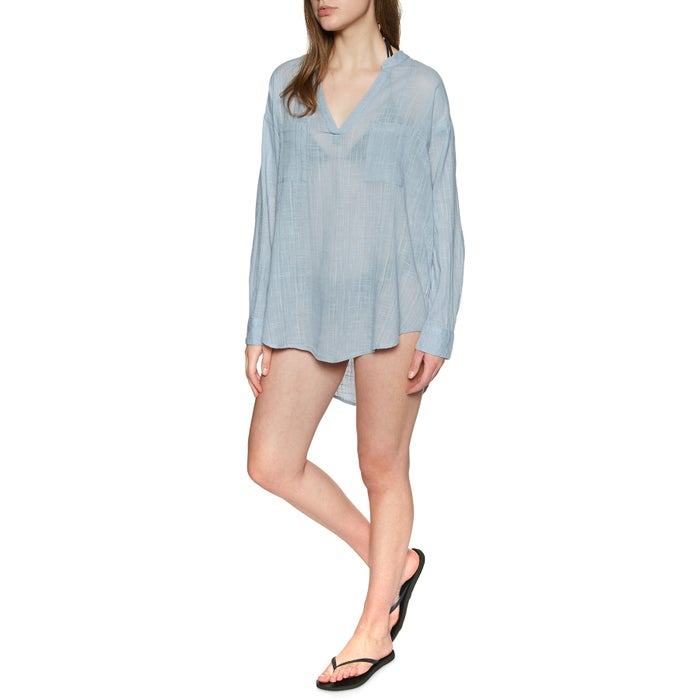 Camisa Senhora Rip Curl Koa Beach Cover up