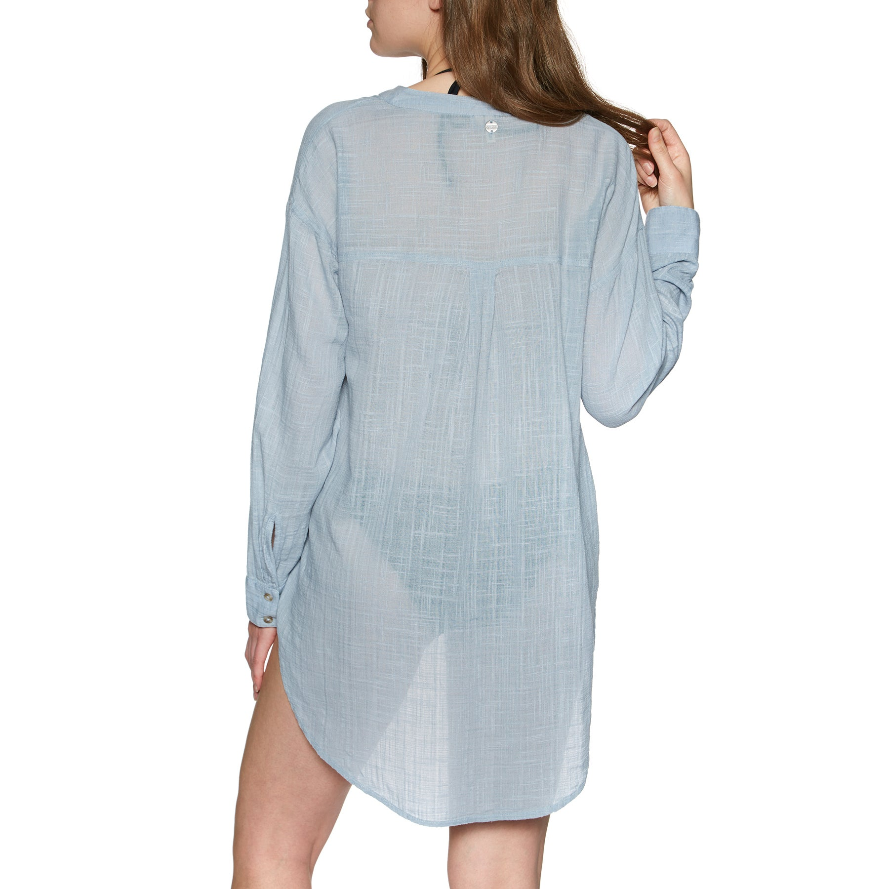 Camisa Senhora Rip Curl Koa Beach Cover up - Blue
