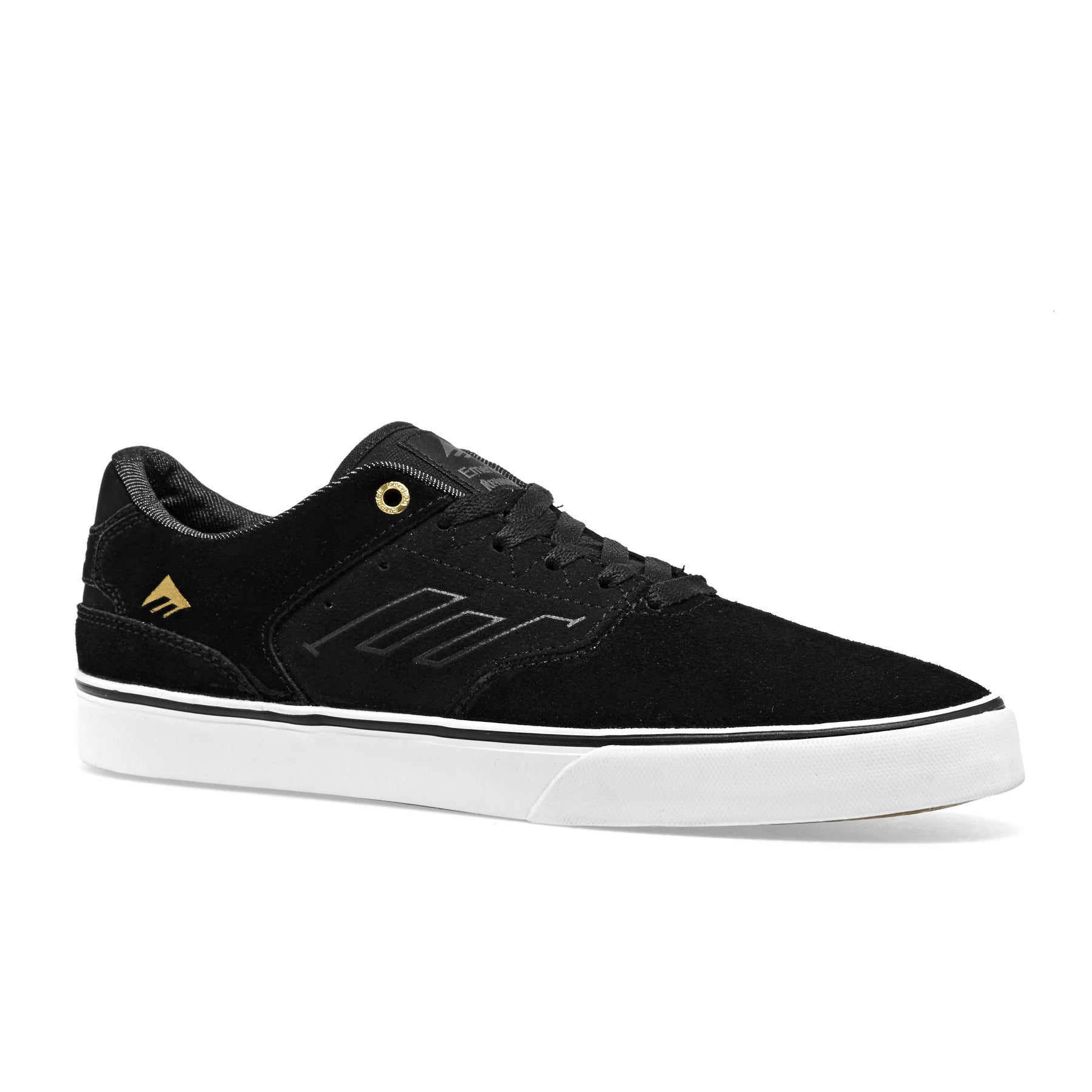 Emerica The Reynolds Low Vulc Shoes - Black Gold White