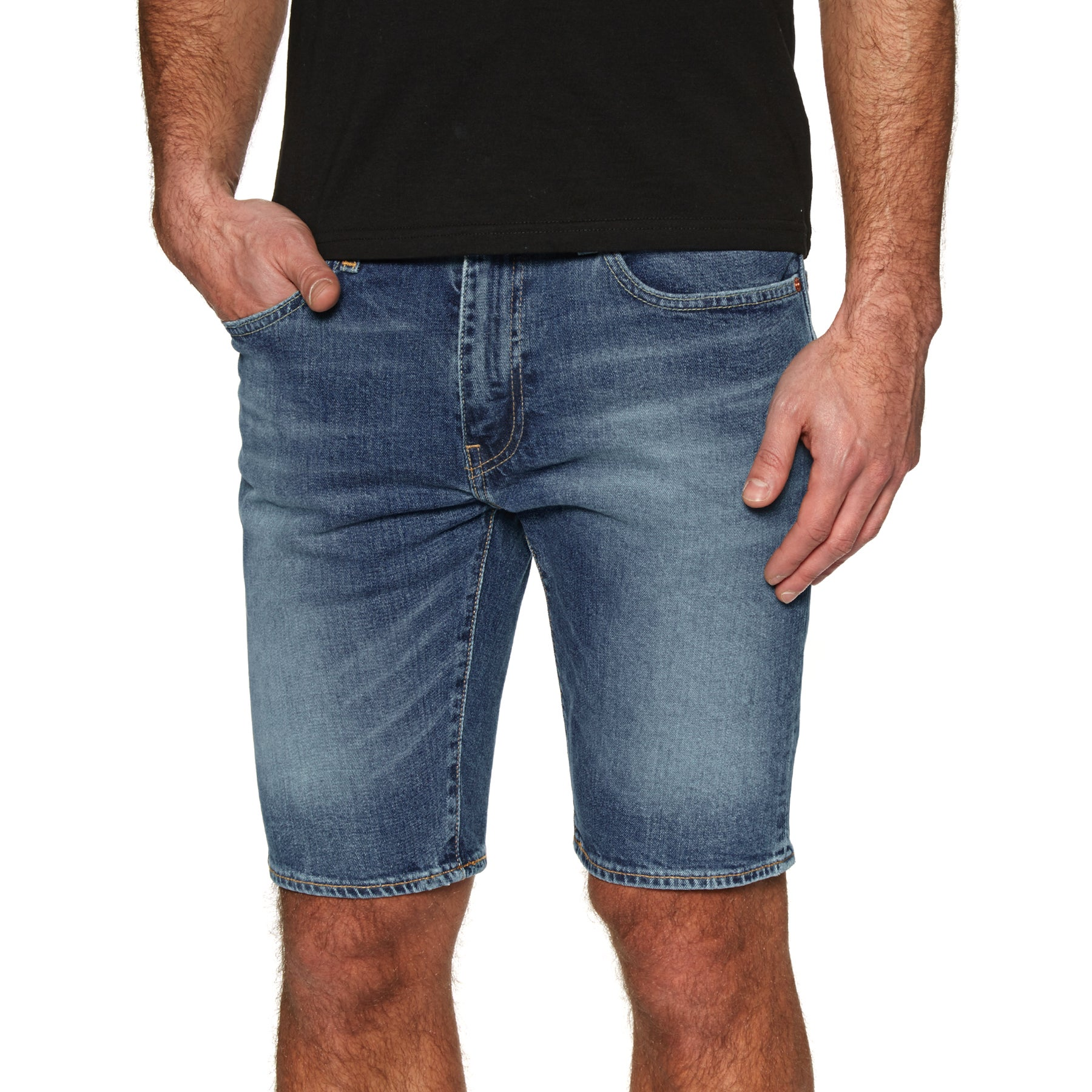 Levis 502 Taper Hemmed Walk Shorts - Harbour
