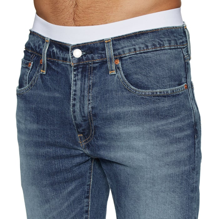 Levis 502 Taper Hemmed Walk Shorts
