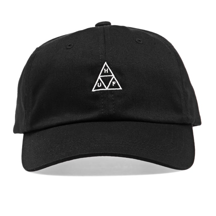 262094da Huf Essentials Triple Triangle Logo Curved Visor Cap available from ...