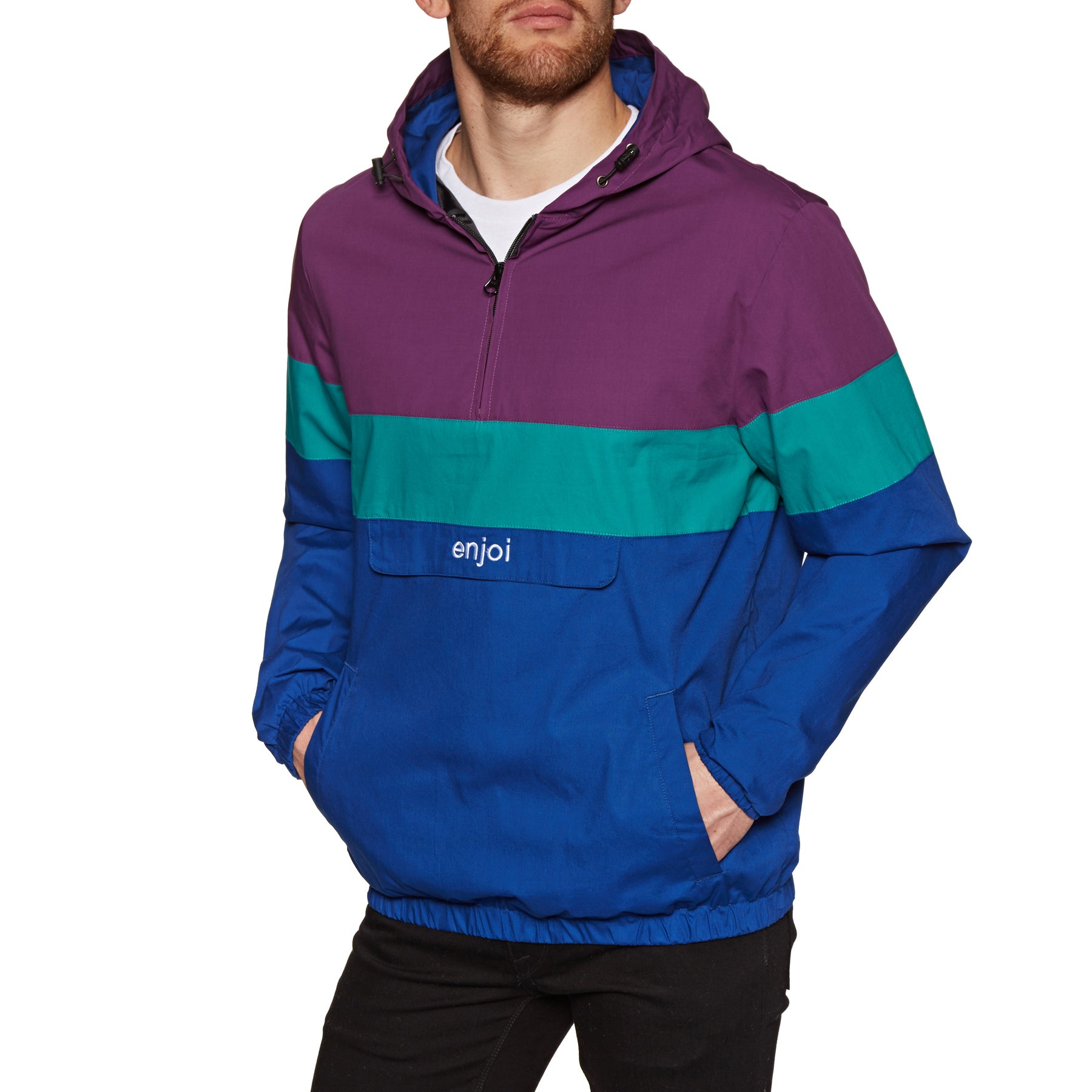 Blusão Enjoi Handout Windbreaker - Purple