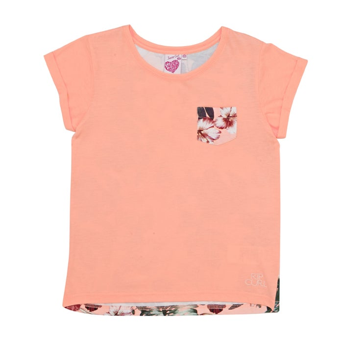 16c8dcac7e Rip Curl Island Bay Girls Short Sleeve T-Shirt available from Surfdome