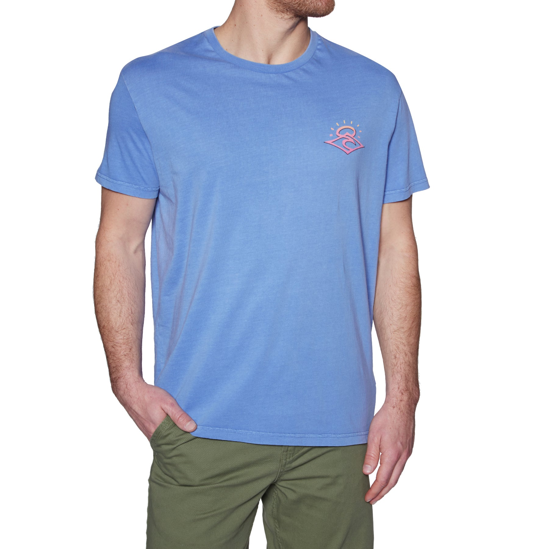 Rip Curl The Origins Short Sleeve T-Shirt - Lavender