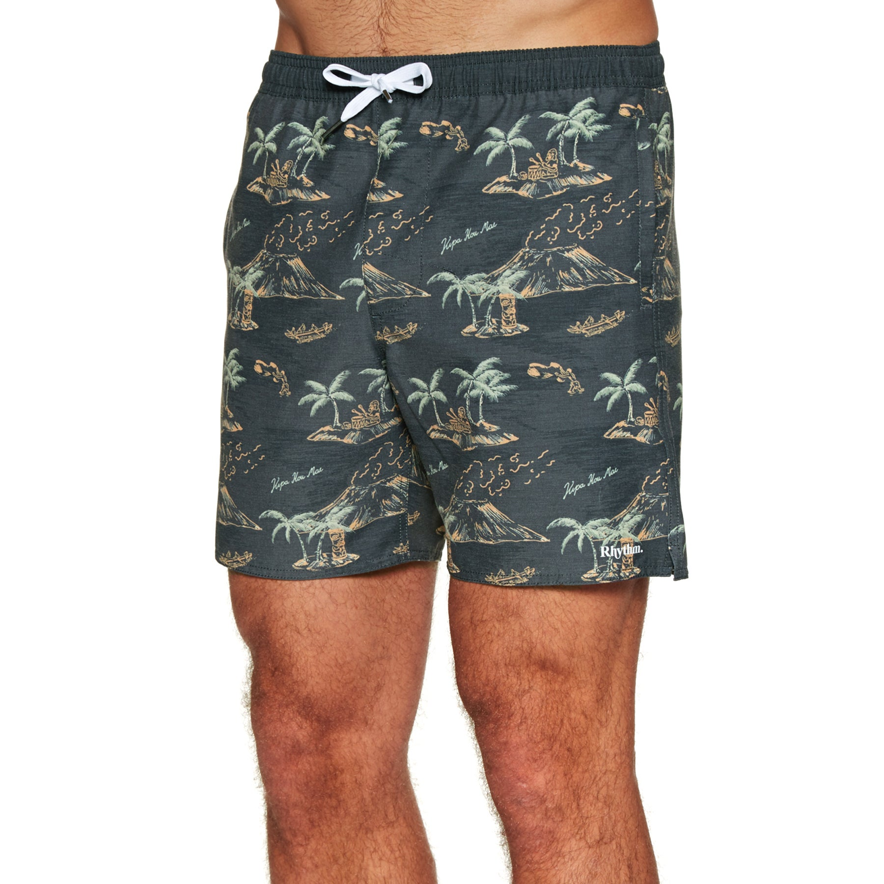 Rhythm Mohalo Beach Shorts - Vintage Black
