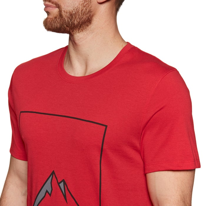 T-Shirt de Manga Curta Peak Performance Explore Mountain Outdoor