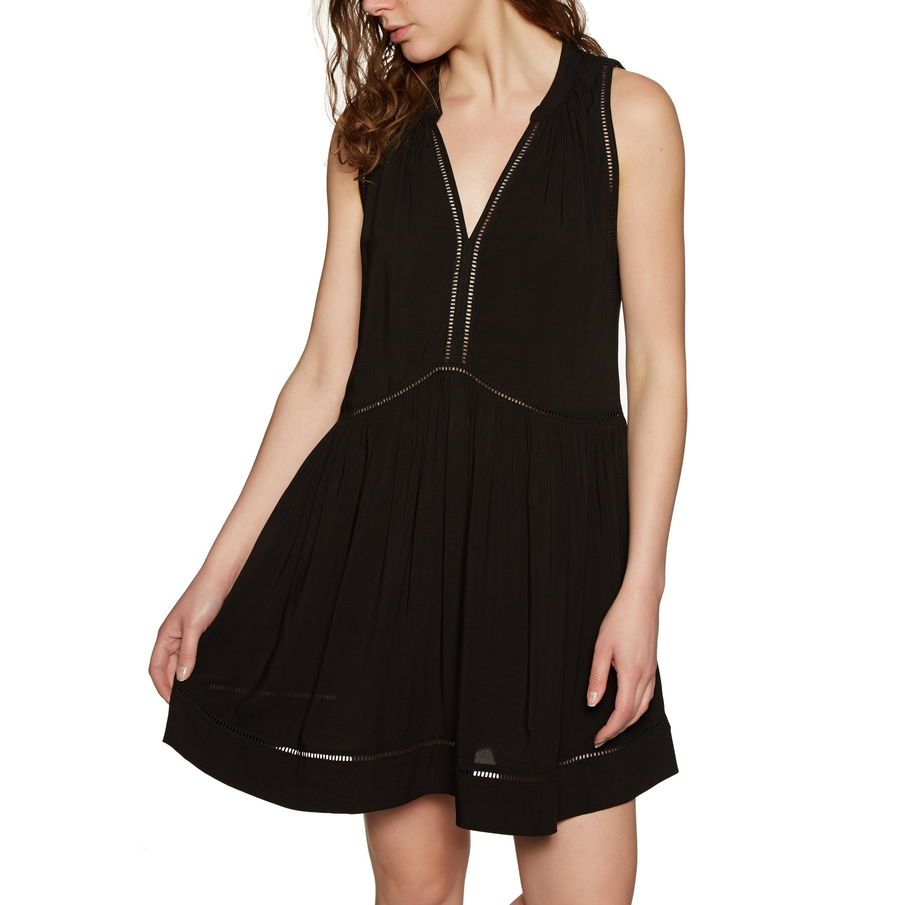 Seafolly Ladder Detail Kleid - Black