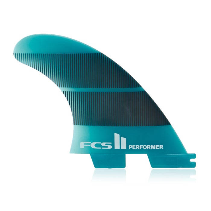 Dérive FCS II Performer Neo Glass Teal Gradient Tri-Quad