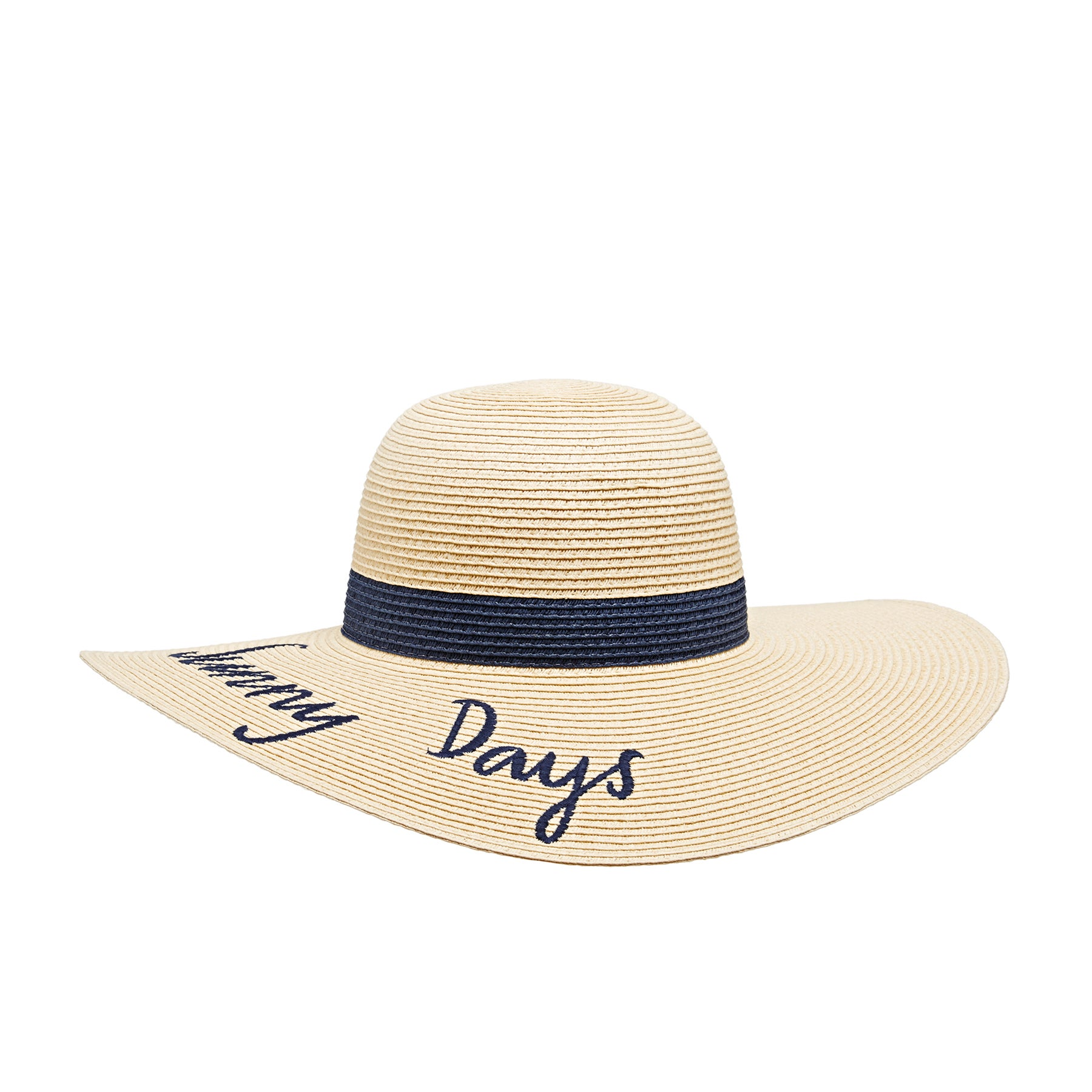 Joules Shade Womens Hat - Navy Sunny Days Band