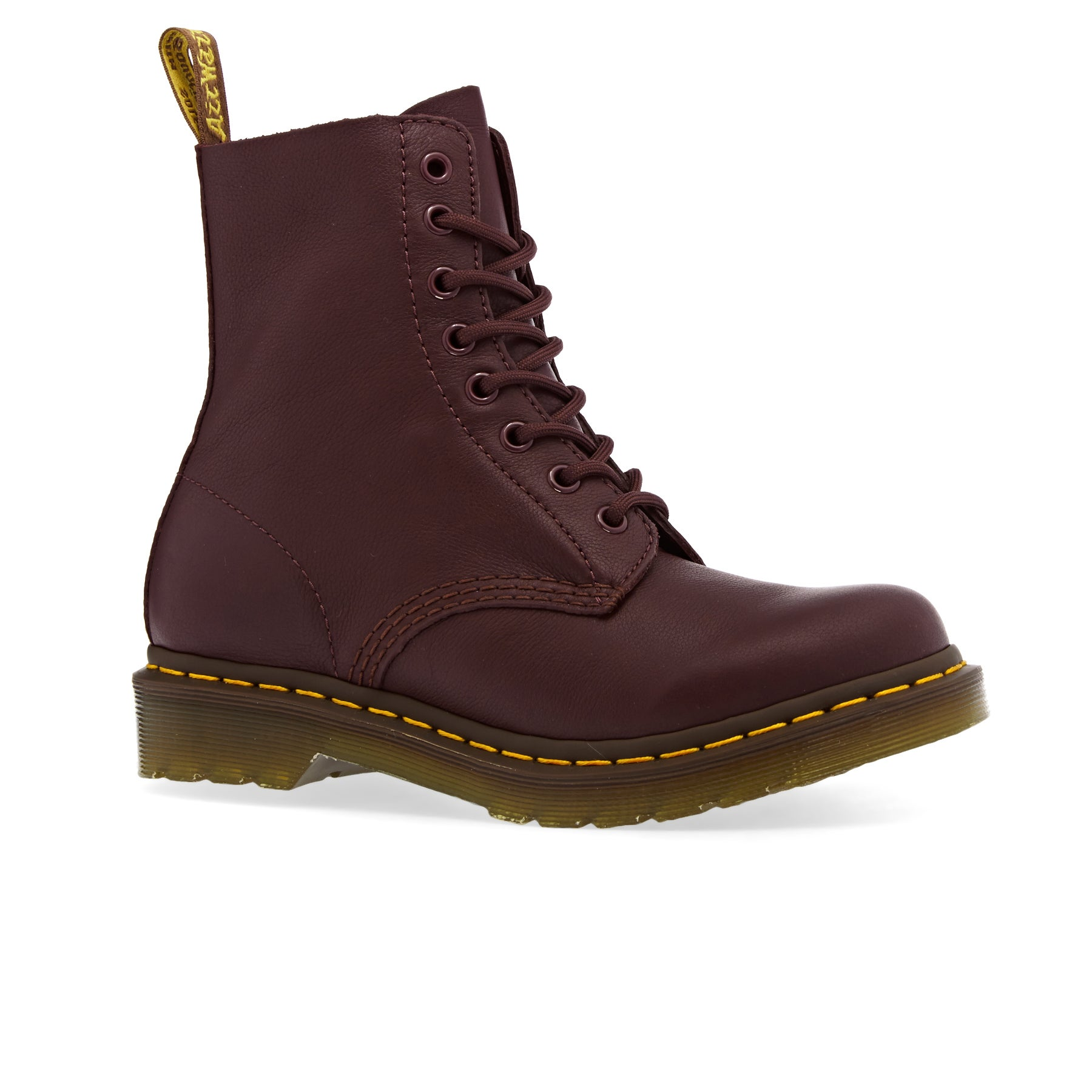 Bottes Femme Dr Martens 1460 Pascal - Cherry Red Virginia