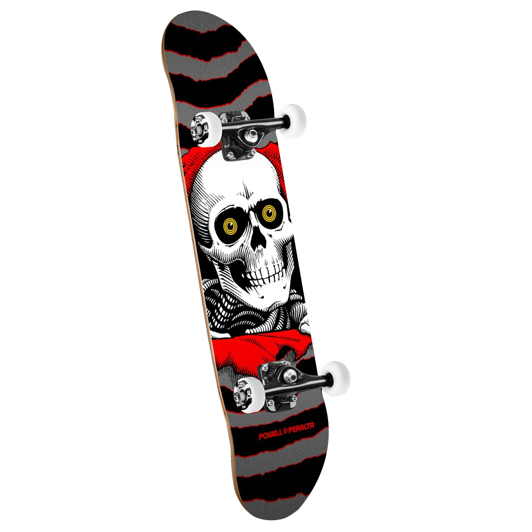 Powell Ripper 8 Inch Complete Skateboard - Natural/black