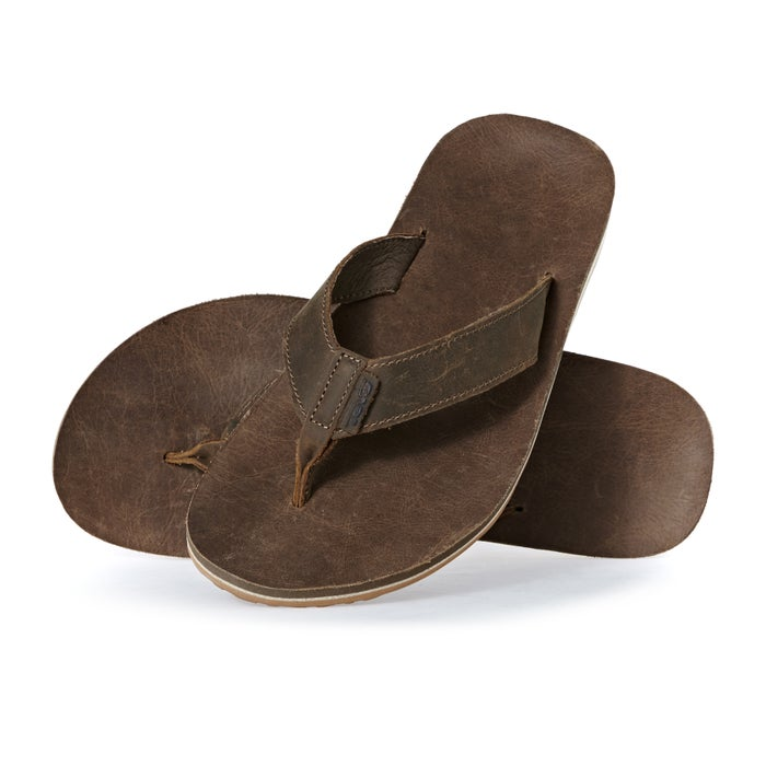 4b831e03a Teva Classic Flip Premium Leather Sandals - Free Delivery options on ...