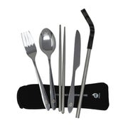 Mizu Straw and Cutlery Set