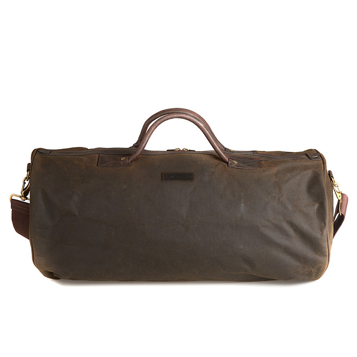 Marsupio Barbour Wax Holdall - Olive