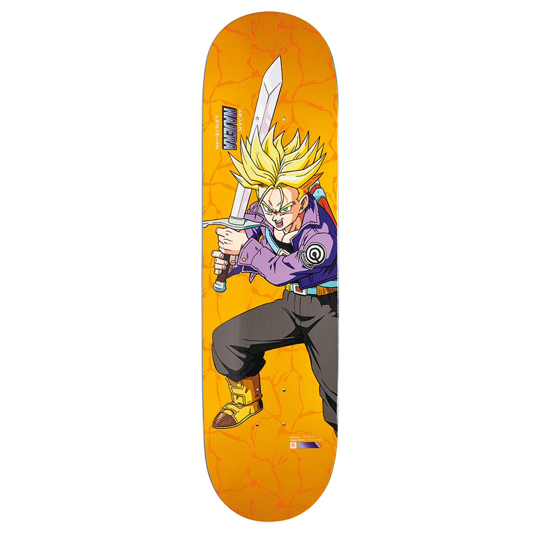 Primitive Najera Trunks 8.25 Inch Skateboard Deck - Multi